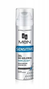 AA Men Sensitive Zel do golenia nawilzajacy  200ml