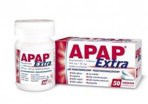 APAP Extra x 50 tabletek