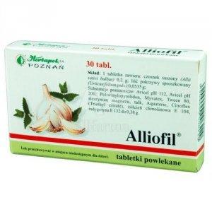ALLIOFIL x 30 tabletek