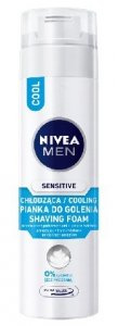 NIVEA FOR MEN Pianka do golenia CHLODZACA SENSITIVE COOL  200ml
