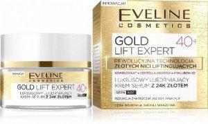 Eveline Gold Lift Expert 40+ Krem-serum ujędrniający na dzień i noc  50ml