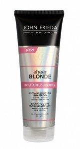 John Frieda Sheer Blonde Szampon nadający połysk do włosów blond Brilliantly Brighter  250ml