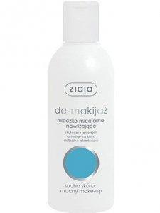 Ziaja de-makijaż mleczko miceralarne nawilżające 200ml