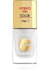 Delia Cosmetics Coral Hybrid Gel Emalia do paznokci nr 32  11ml