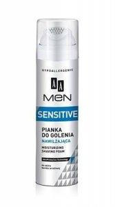 AA Men Sensitive Pianka do golenia nawilzajaca  250ml