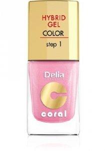 Delia Cosmetics Coral Hybrid Gel Emalia do paznokci nr 31  11ml