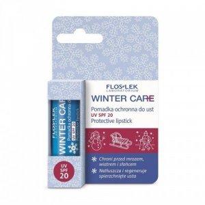 Floslek Winter Care Pomadka  ochronna do ust SPF20  1szt