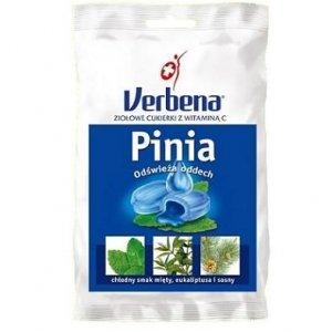 VERBENA Pinia Cukierki ziołowe z Vit.C 60g