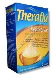 THERAFLU ExtraGrip x 10 saszetek