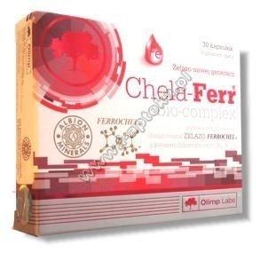 OLIMP Chela-Ferr bio-complex x 30 kaps.