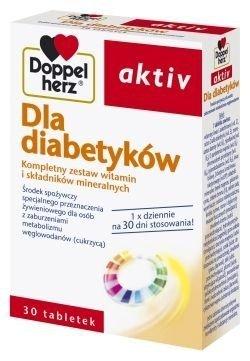 DOPPELHERZ Aktiv Dla Diabetyków x 30 kaps.