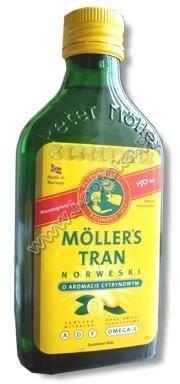 TRAN Mollers cytrynowy 250ml