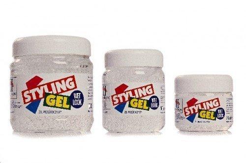 Hegron Styling Zel do modelowania wlosow 500ml wetlook bialy