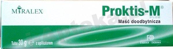 PROKTIS-M Plus maść 30g