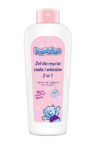 BAMBINO Żel do mycia ciała i włosów 2w1 dla Dzieci i Niemowląt  400 ml