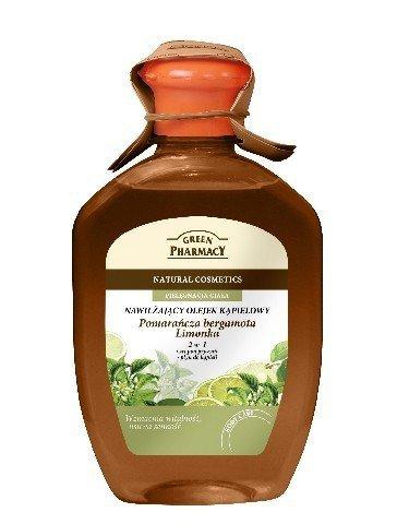 Green Pharmacy Olejek kapielowy Pomarancza bergamota, Limonka