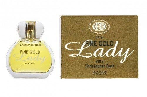 Christopher Dark Woman Fine Gold Lady Woda perfumowana  100ml