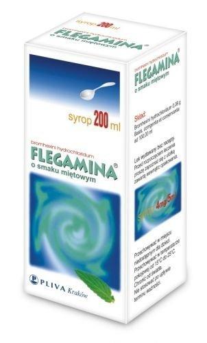 FLEGAMINA miętowa syrop 120ml