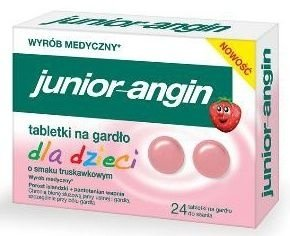 JUNIOR Angin x 24 tabletki do ssania