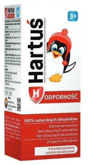 HARTUŚ 3+ Na odporność syrop 120 ml