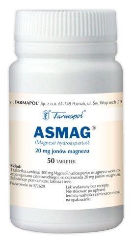 ASMAG x  50 tabletek