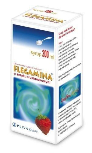 FLEGAMINA truskawkowa syrop 120ml