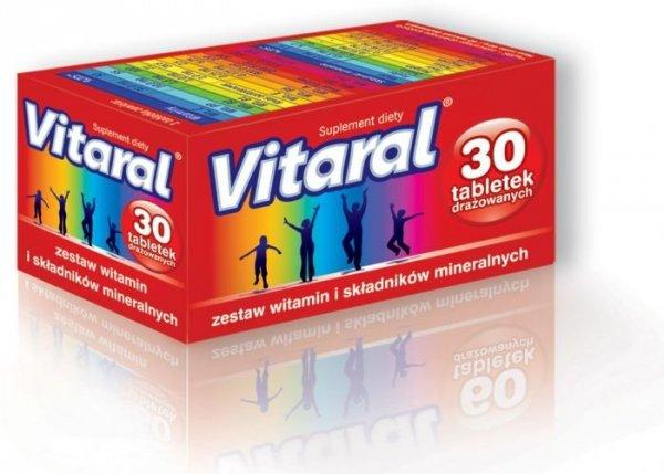 VITARAL x 30 drażetek