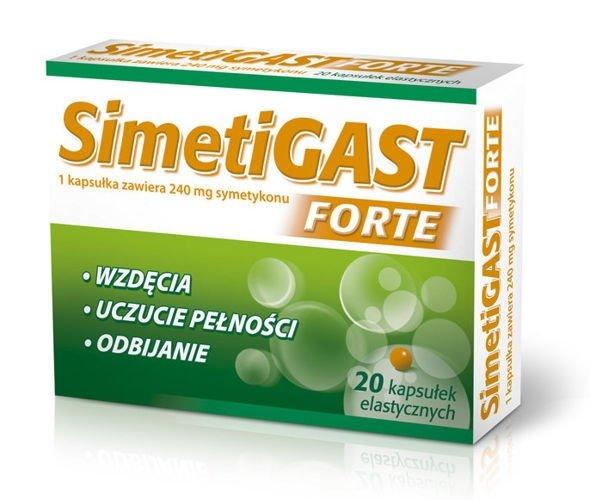 SIMETIGAST Forte x 20 kapsułek