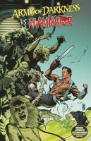 ARMY OF DARKNESS VS RE-ANIMATOR COVER B SC