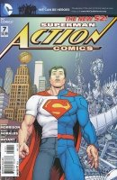 ACTION COMICS #7 VAR ED