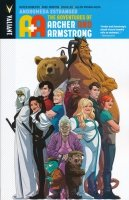 A AND A THE ADVENTURES OF ARCHER AND ARMSTRONG VOL 03 ANDROMEDA ESTRANGED SC
