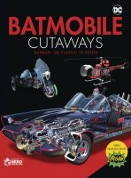 BATMOBILE CUTAWAYS CLASSIC BATMAN 66 TV SERIES W COLLECTIBLE *