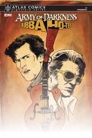 ARMY OF DARKNESS BUBBA HOTEP #1 SGN ATLAS ED *