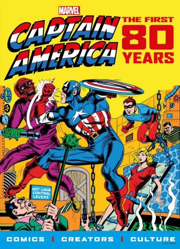 CAPTAIN AMERICA FIRST 80 YEARS SC PX