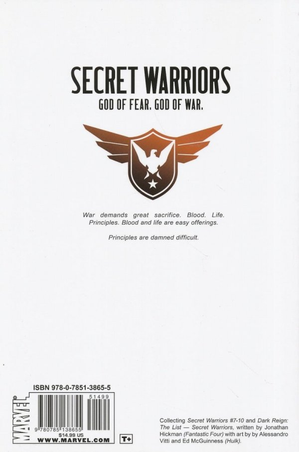 SECRET WARRIORS VOL 02 SC
