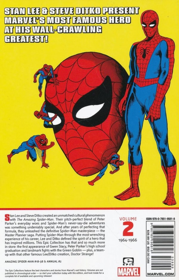 AMAZING SPIDER-MAN EPIC COLLECTION GREAT RESPONSIBILITY TP