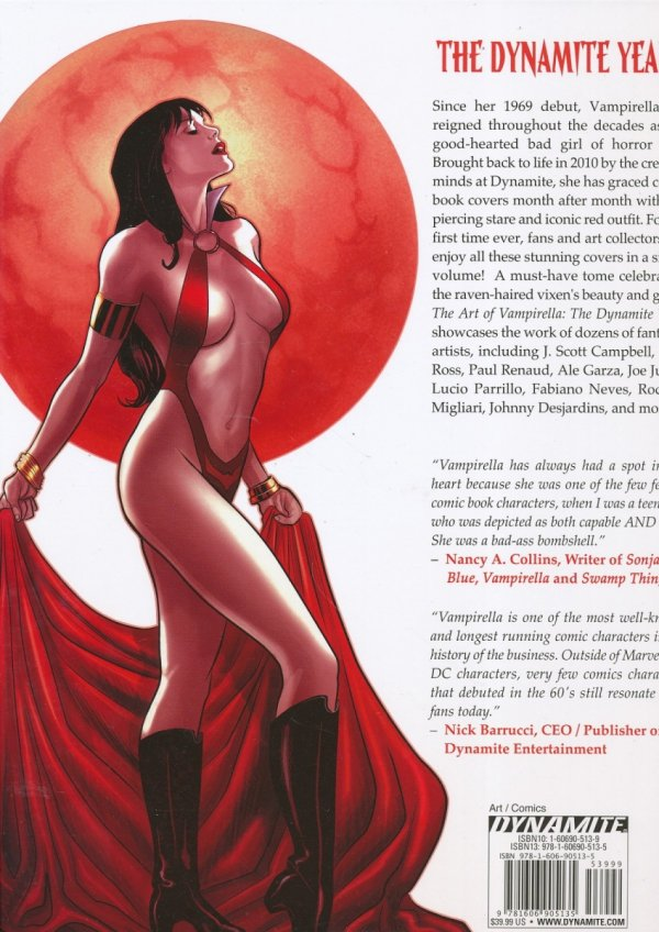 ART OF VAMPIRELLA THE DYNAMITE YEARS HC