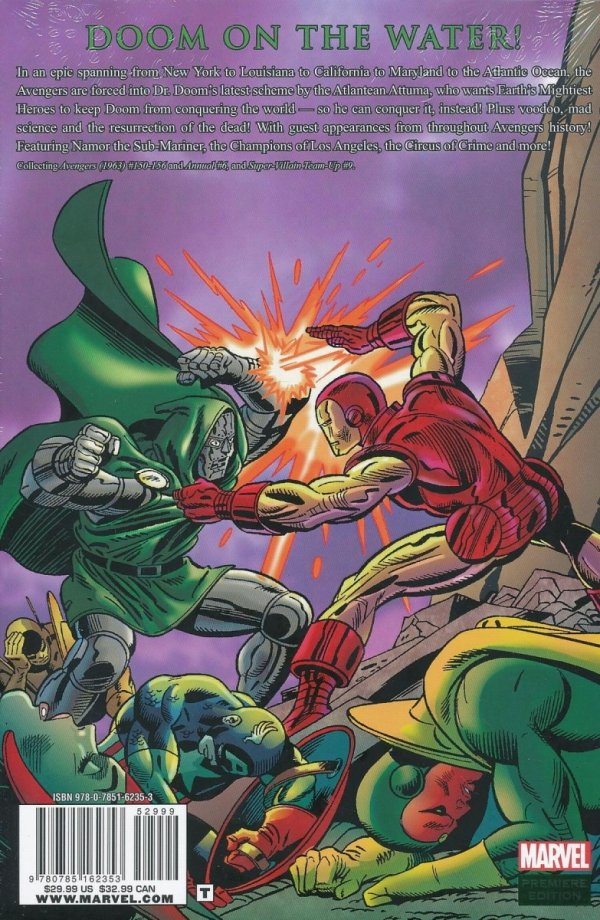 AVENGERS THE PRIVATE WAR OF DR DOOM HC (STANDARD COVER)