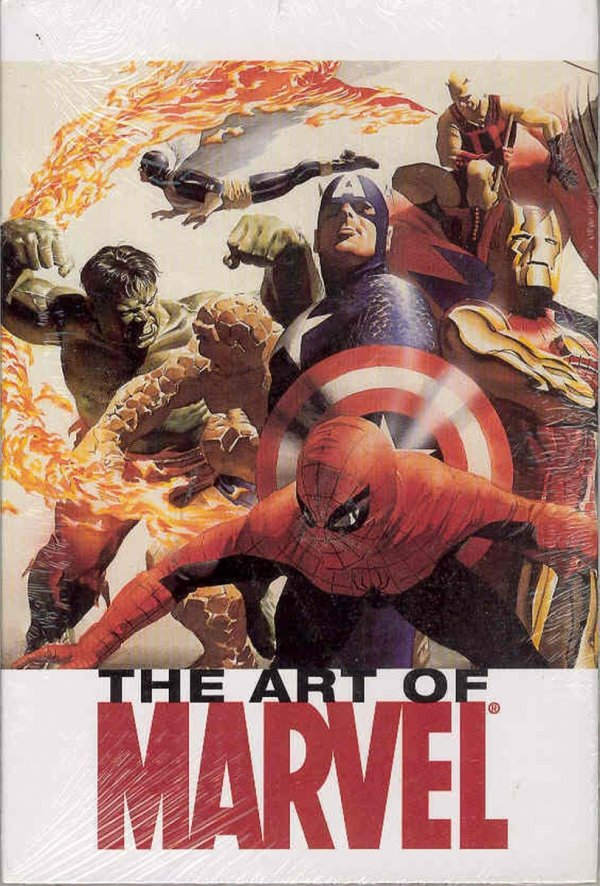 ART OF MARVEL VOL 01 HC *