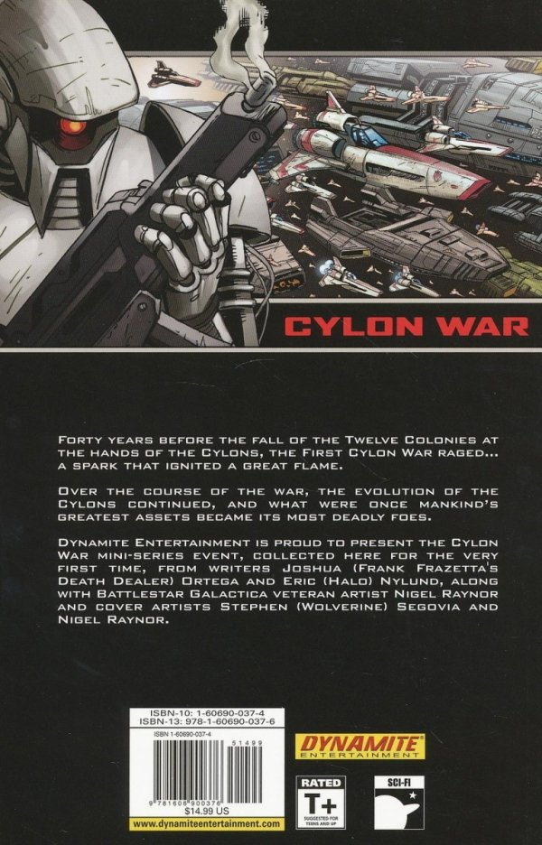 BATTLESTAR GALACTICA THE FINAL FIVE SC (CYLON WAR)