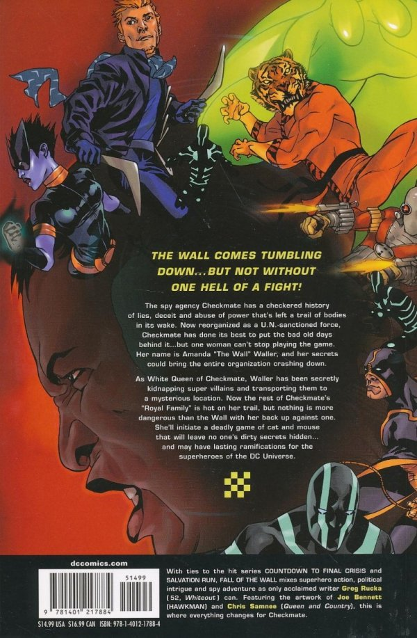 CHECKMATE VOL 03 FALL OF THE WALL SC