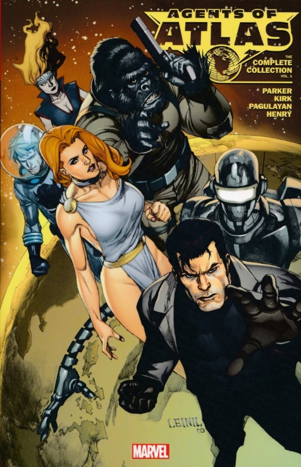AGENTS OF ATLAS THE COMPLETE COLLECTION VOL 01 SC