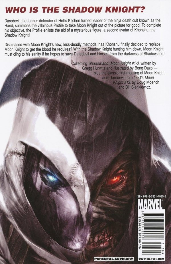 SHADOWLAND MOON KNIGHT SC