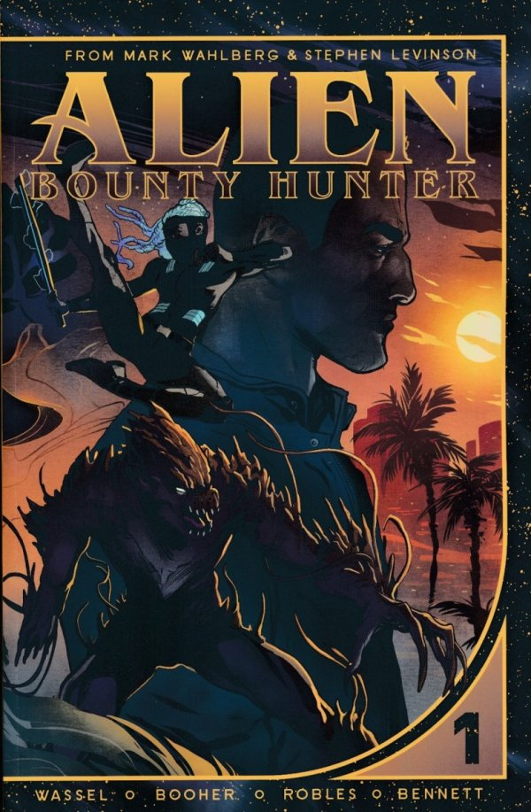 ALIEN BOUNTY HUNTER VOL 01 SC