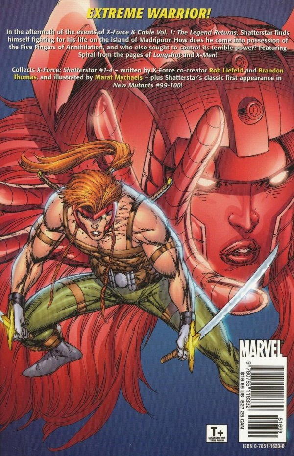 X-FORCE SHATTERSTAR SC