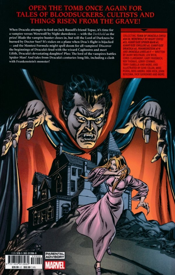 TOMB OF DRACULA THE COMPLETE COLLECTION VOL 02 SC (SUPERCENA)