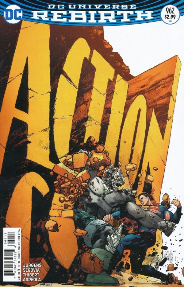 ACTION COMICS #962 (SUPERCENA)