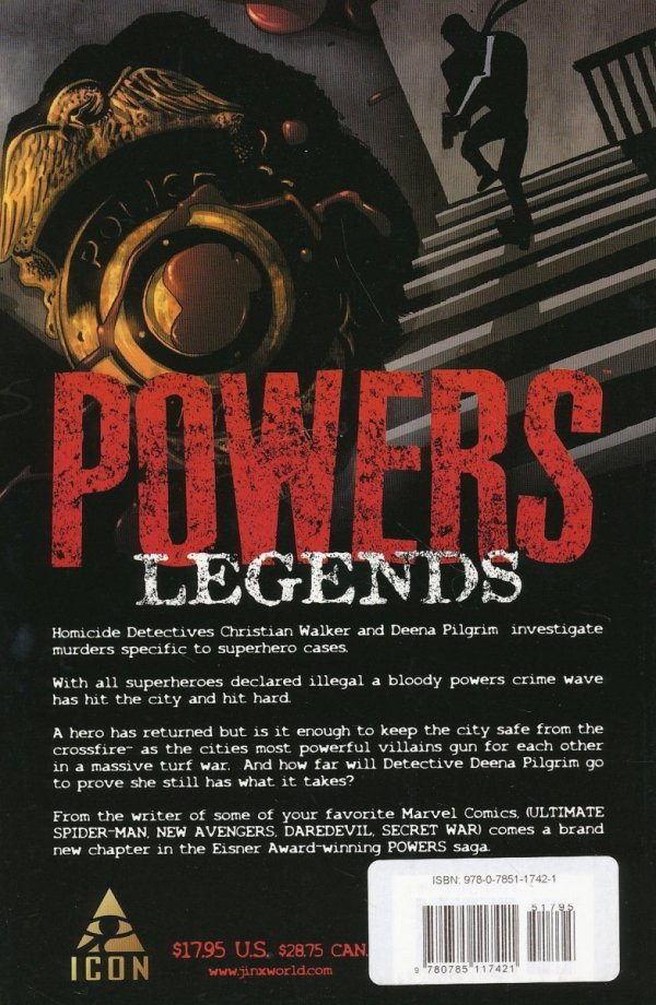 POWERS VOL 08 LEGENDS SC