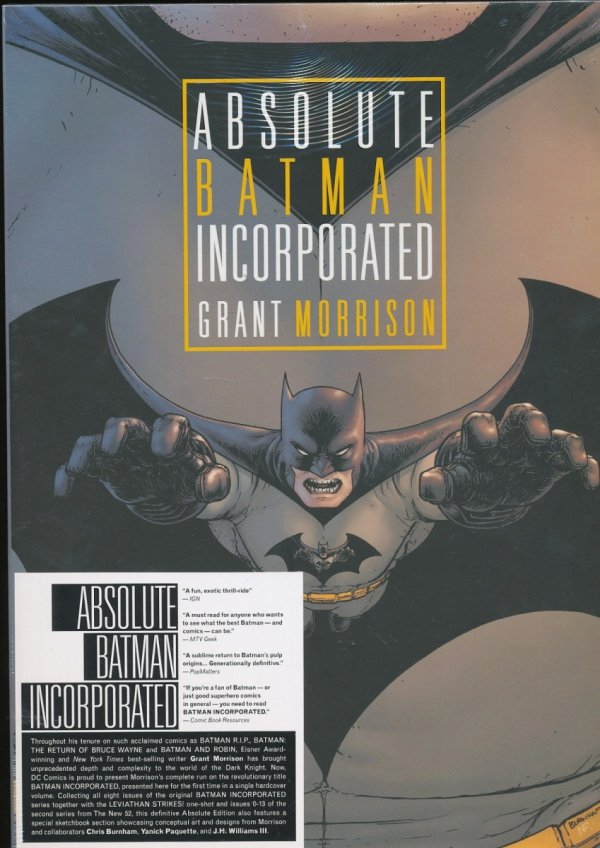 ABSOLUTE BATMAN INCORPORATED HC (BOX)