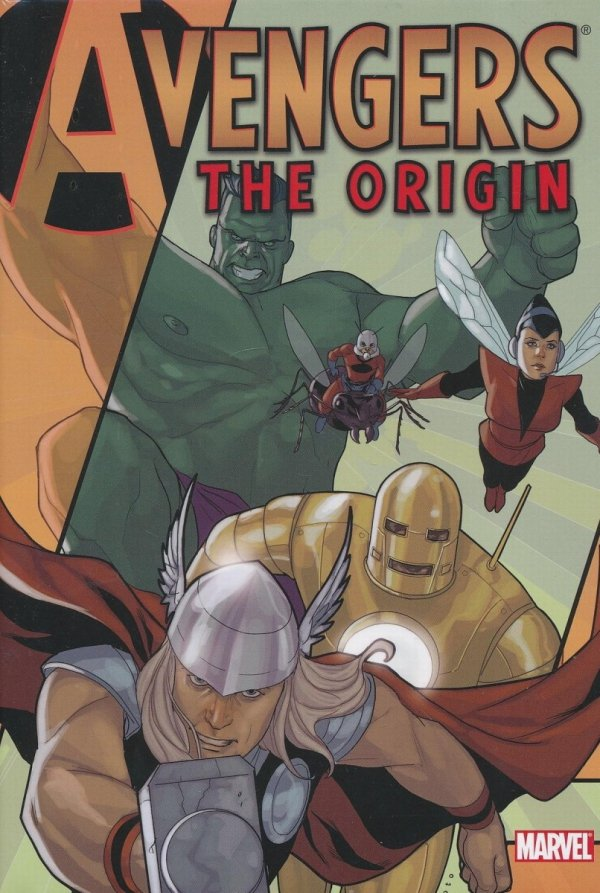 AVENGERS THE ORIGIN HC (SUPERCENA)